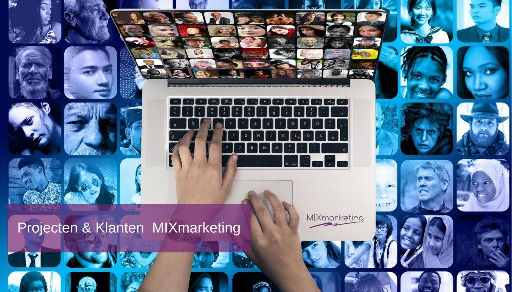Projecten klanten MIXmarketing 2018