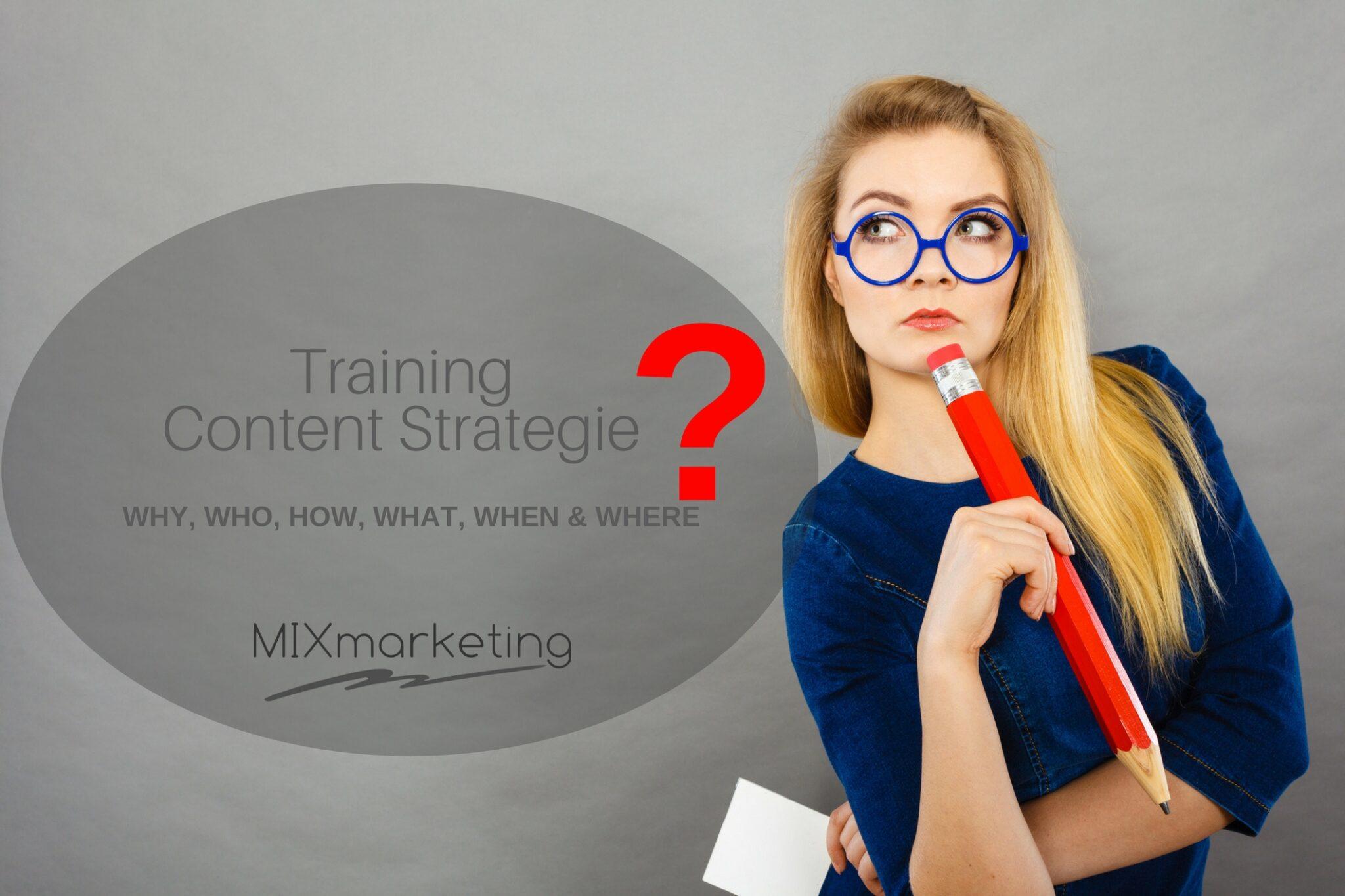 MIXmarketing Content Strategie Training