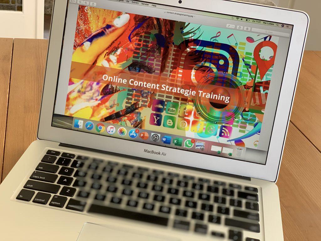 Online content strategie training MIXmarketing