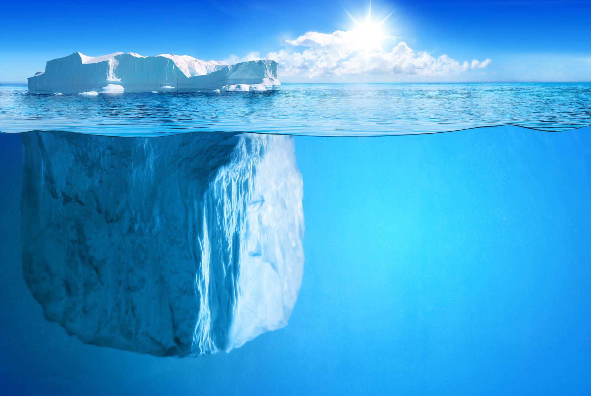 topje ijsberg